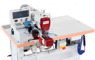 Швейный автомат BT2N-SIP SIPAMI для притачивания шлевок предварительно пришитых с одной стороны к поясу брюк или джинс