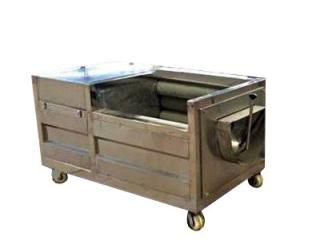 Машина щеточная для мойки и полировки корнеплодов МЩМП-1500 с мягкими щетками без повреждений кожуры