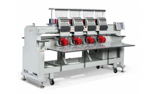 Промышленная четырёхголовочная вышивальная машина RICOMA CHT2-1204