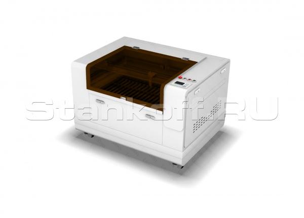 Лазерно-гравировальный станок для резки металлов и неметаллов с ЧПУ LM HYBRID 1390/300 Вт