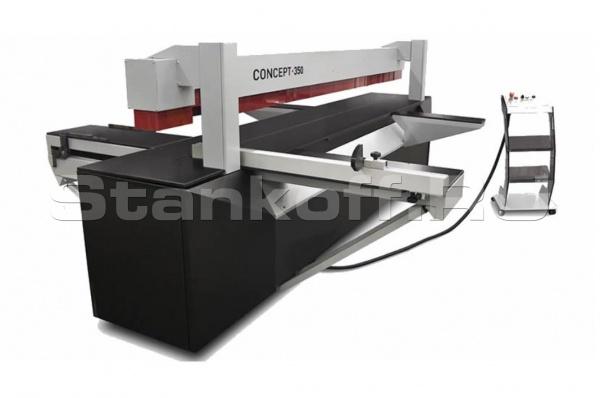 Автоматический круглопильный форматный станок Concept 350/260