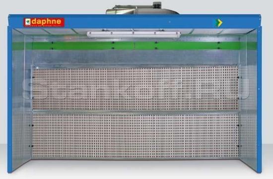 Покрасочная камера с водяной завесой cерии Daphne