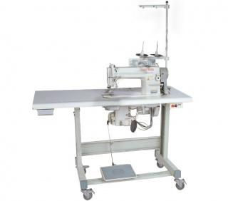Прямострочная промышленная швейная машина с ножом обрезки края материала GOLDEN WHEEL CS-7520-BT-F