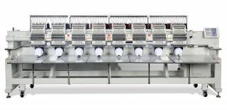 Промышленная восьмиголовочная вышивальная машина RICOMA CHT2-1208