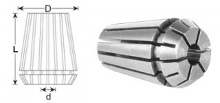 Цанга ER25-10 (DIN 6499B)