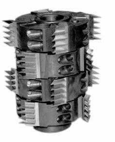 Фрезы сборные для обработки шипов для сращивания древесины ДФ-24.04 А