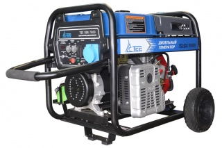 Дизель электростанция TSS SDG 7000EH 6,5 кВт