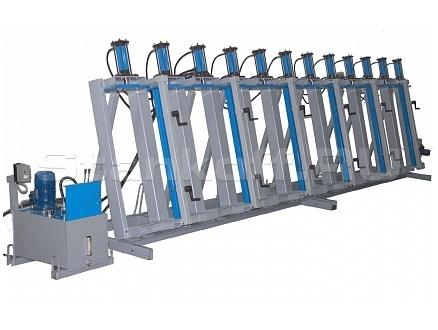 Пресс гидравлический для щита и бруса SL200-12GM