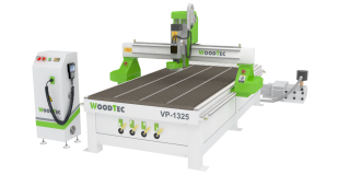 Фрезерно-гравировальный станок с ЧПУ с полуавтоматической сменой инструмента Woodtec VP-1325