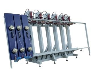 Пресс для склеивания бруса 1Г-12000