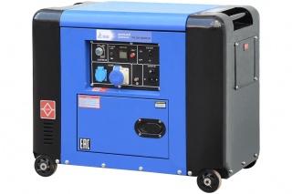 Дизельный генератор TSS SDG 5000ES-2R 5 кВт