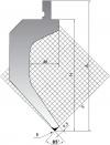Пуансон для листогибочного пресса TOP.205.85.R08/FB/R
