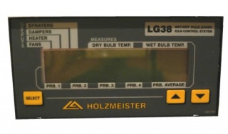 Автомат контроля процесса сушки древесины HOLZMEISTER LG38