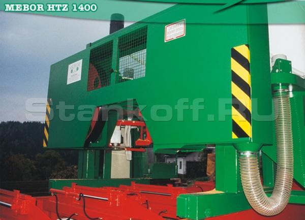 Горизонтальная ленточная пилорама HTZ 1400 Professional