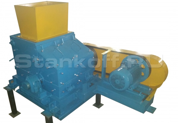 Дробилки стекла и бутылок СТДС-4000