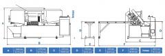 Станок ленточнопильный автоматический CUTERAL PAR 350 PLC