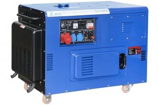 Дизельный генератор электростанция TSS SDG 10000EHS3 10кВт