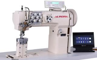 Двухигольная промышленная швейная машина AURORA A-550-1780