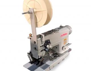 Двухигольная швейная машина для притачивания ленты Aurora A-842-BH-P