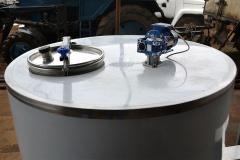 Молочный охладитель вертикального типа ОВТ-800