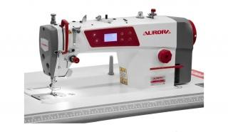Прямострочная промышленная швейная машина с прямым приводом Aurora A-4E