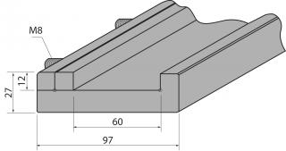Подложка цельная C2500/S