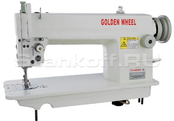 Прямострочная промышленная швейная машина с игольным продвижением GOLDEN WHEEL CS-7500HL