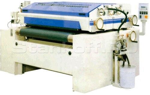 Вальцовый станок для нанесения высоковязких ЛКМ JDM 1300A