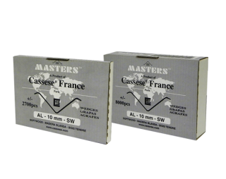 V-скобы Masters ™ AL 10 мм (8000 штук)