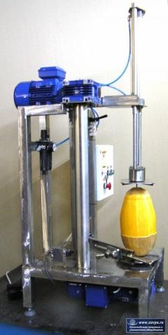 Машина для очистки тыквы от кожуры МОТ-1