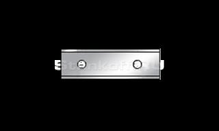 Твердосплавный нож с 2-мя режущими кромками ТН 40 х 12 х 1,5