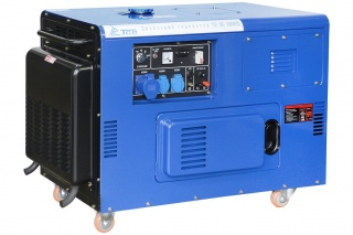 Дизельный генератор электростанция TSS SDG 10000EHS 10 кВт