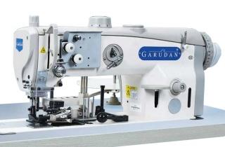 Прямострочная одноигольная машина с унисонным продвижением и обрезкой края материала GF 139-443MH/L33