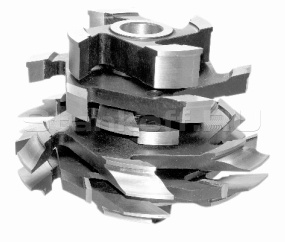 Комплект фрез для изготовления арочных дверей с остеклением (с термошвом) ДФ-04.21Б