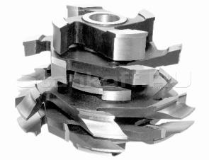 Комплект фрез для изготовления арочных дверей с остеклением (с термошвом) ДФ-04.22Б