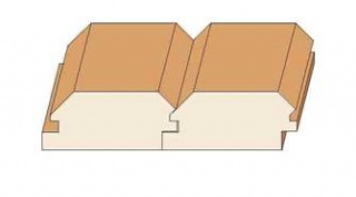 Комплект фрез для изготовления имитации бруса (фальшбруса)
