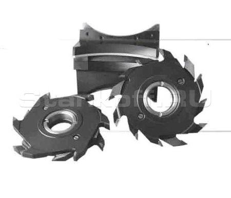 Комплект фрез для обработки наружной вагонки на четырехсторонних станках