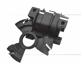 Комплект фрез, с механическим креплением ножей, для изготовления бруса дома (120-140; 90; 40мм)