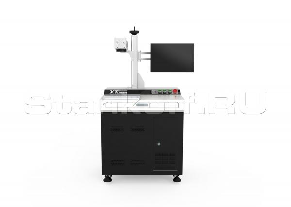Волоконный лазерный маркер для гравировки по металлу XTL-F50