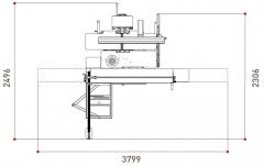 Универсальный комбинированный станок LAB 300 PLUS