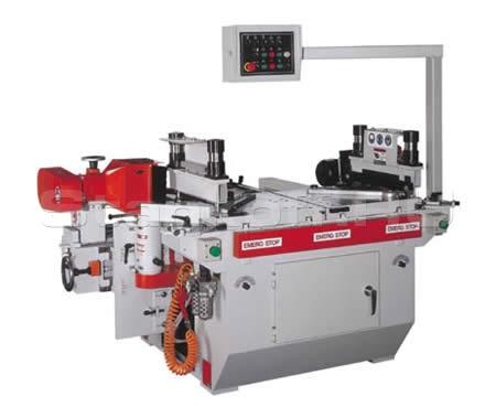 Двухсторонний полуавтомат для нарезания микрошипа и сверления отверстий под шканты на багетных заготовках LH-4045-DR