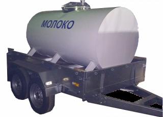 Цистерна для хранения и перевозки молока ЦМ-3000