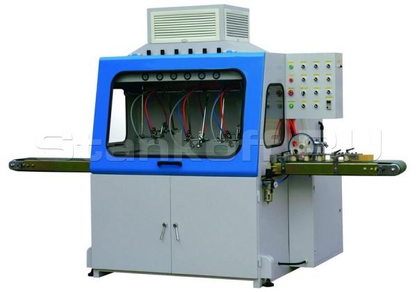 Окрасочный станок проходного типа для погонажных изделий LSPM200; LSPM400