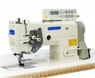Промышленная двухигольная швейная машина челночного стежка Garudan GF 210-447MH/ACS