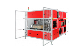 Высокоскоростная стреппинг машина для обвязки картона TP-CIL-13T