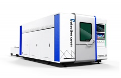 Волоконный лазерный станок для резки металла в защитной кабине TC-P3015/3000 Raycus
