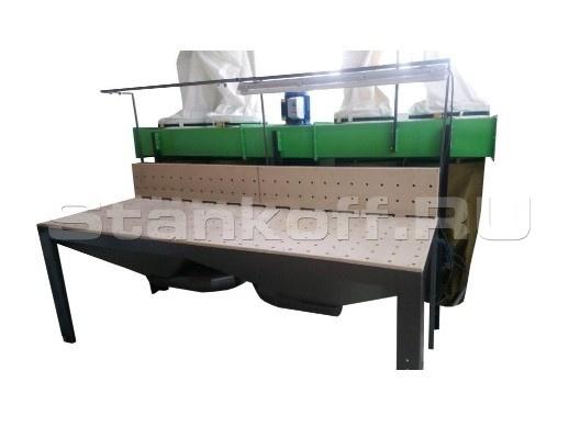 Шлифовальный стол с вытяжной установкой S-7000