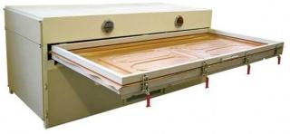 Вакуумный пресс для облицовывания рельефных и плоских поверхностей мебельных фасадов и щитов MTA-2500