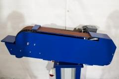 Ленточно-шлифовальный гриндер по металлу ЛГ-100