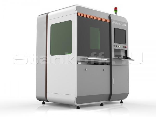Высокоточный волоконный лазерный станок для резки металлических листов ExactCut 0640/750 Raycus